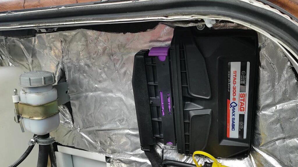 Блок управления автомобильным газовым оборудованием