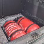 Установка метановых баллонов в Нишу для запасного колеса